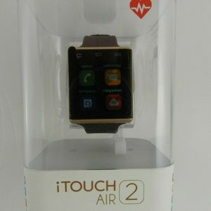 iTouch  Air 2 Merlot Silicone Smart Watch